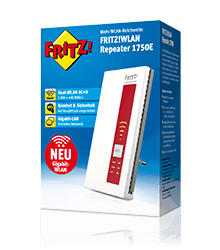 FRITZ!WLAN Repeater 1750E